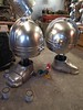 Shiny Shoulders (thorssoli) Tags: greyknight ordomalleus terminator armor prop costume replica spacemarine warhammer 40k wh40k