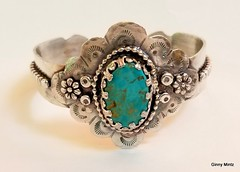1-20180506_152936 (Ginny Mintz) Tags: sterling silver turquiose cuff bracelet handcrafted boho oneofakind