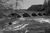 Five Arch Stone Bridge in Packenham Ontario (Howard Sandler (film photos)) Tags: packenham bridge blackandwhite 6x9 franka rolfix folder delta schneiderkreuznach radionar
