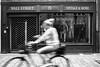 Vintage (ThorstenKoch) Tags: street streetphotography schatten stadt strasse shadow schwarzweiss vintage blackwhite bnw bike biker city candit sun sonne summer fuji fujifilm tuesday monochrome pov photography people photographer picture pattern düsseldorf duesseldorf germany shop shopping art architecture architektur