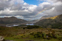Somewhere over the Rainbow (FabCannizzaro) Tags: rainbow rain cloud sky stunning amazing canon landscape view ireland killarney lake water blu 7dmarkii photo photographer green mountains nature love color