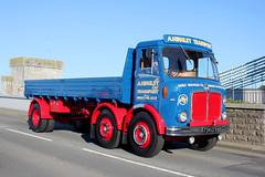 TV018658-Conwy. (day 192) Tags: conwy conwyroadrun llandudnofestivaloftransport roadrun lorries lorry wagon truck classiclorry vintagelorry preservedlorry aec mustang aecmustang ahingleytransport 734cfw