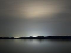Silver Sky on Perfect Night (karlogd) Tags: silver sky night coast island sea smooth blur exposure long olympus omd em10 markii panasonic lumix 25mm 17 water gray