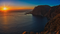 La Gomera Sunset Panorama (Jörg Bergmann (off)) Tags: 2018 8k borbalán fincaargayall islascanarias ladama lagomera lamérica laplaya lapuntilla mirador panasonic20mmf17 playadeiguala puertovueltas schweinebucht teguerguenche vallegranrey backlight beach bluesky canarias canaryislands cliffs coast españa gf7 goldenhour gomera harbor harbour hiking lumix m43 mft micro43 microfourthirds ocean panasonic panorama panoramic port puerto rainbowgathering sea seascape spain spring stitched sun sunbeams sunrays sunset travel vacation wallpaper landscape nature village 20mmf17 20mm uhd2
