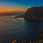 La Gomera Sunset Panorama thumbnail