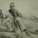 DAUMIER Honoré,1843 - Navigation Difficile (Maison de Balzac) - Detail 1