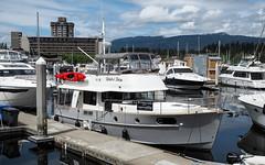 mv. wade'n sea (heinz41) Tags: epl7 olympus lumix1260mmf3556 panasonic ships boats yachts coalharbour marina vancouver