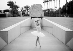 LA Beautiful Ballerina Dancing Ballet Levitated Mass LACMA Los Angeles County Museum of Art! Nikon D810 70-200mm VR2 F2.8! Fine Art Classical Ballet in Pointe Shoes Slippers Leotard Tutu Photography! High Res Model Portraits Professional Arabesque! (45SURF Hero's Odyssey Mythology Landscapes & Godde) Tags: la beautiful ballerina dancing ballet levitated mass lacma los angeles county museum art nikon d810 70200mm vr2 f28 fine classical pointe shoes slippers leotard tutu photography high res model portraits professional arabesque