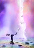 """Reparation""-תיקון (orit martin) Tags: abstract awe background beautiful blue billowing birth churning cloud creation dramatic fantasy formation genesis heavens illustration judgementday maelstrom menacing mystical moody nebula ominous purple red sky smoke smokey storm stormy surreal swirling tempest violet kabbalah jewish art judaica meditation"