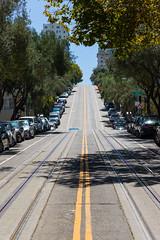 Untitled (chng8) Tags: canon 7dmarkii san francisco sf california street road hill tram tracks bay