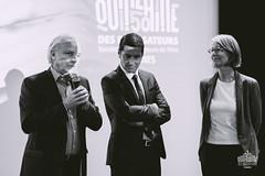 Discours president BNP avec maire et ministre de la culture.