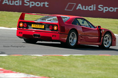 Ferrari F40 ({House} Photography) Tags: brands hatch uk kent fawkham gp circuit car automotive supercar hypercar money canon 70d sigma 150600 contemporary blancpain gt ferrari f40