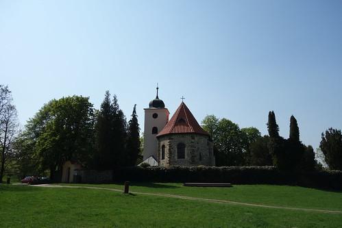 Kostel sv. Klimenta, Levý Hradec