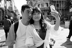 Selfie... (K.BERKİN) Tags: woman walk way turkey tourism people photo alpha street streetphoto streetphotograpy sony6300 selfie
