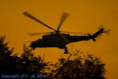 Mil mi-24V Evening glow (Olav de With Aviation photography) Tags: radom2017 mil24 coldwar helicopter poland polska low aviation airshow sigmalens sigma150600sports nikon d7200