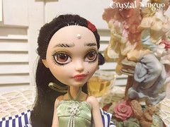 """""""Rouge"""" custom dollie  for sale here: https://etsy.me/2jS4fhn (its ErikaSalazar) Tags: eah doll everafterhigh oneofakind ooak repaint custom"""