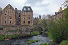 Dean Village on the Water of Leith (lebovox) Tags: edinburgh edinburghscotland scotland deanvillage waterofleith deanvillageonthewaterofleith edinburg