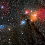 Antares, Rho Ophiuchi and Blue Horsehead thumbnail