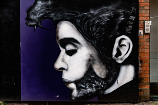 A TRIBUTE TO PRINCE AND GEORGE MICHAEL [BELFAST STREET ART BY GLEN MOLLOY]-139878