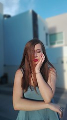 beau blonde (altamiranodanna) Tags: blonde girl blue nice beau beautiful bella guapa rubia chic queer woman teen fancy lovely photo shot photography pic picture art blur sun sunset face delicada delicado easy new portrait