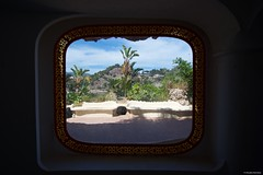 IMGP9885 From the window (Claudio e Lucia Images around the world) Tags: taormina sicilia sicily isola isolabella bella island panorama sea mare sky bluesky bluesea water pentax pentaxk3ii sigma sigma1020