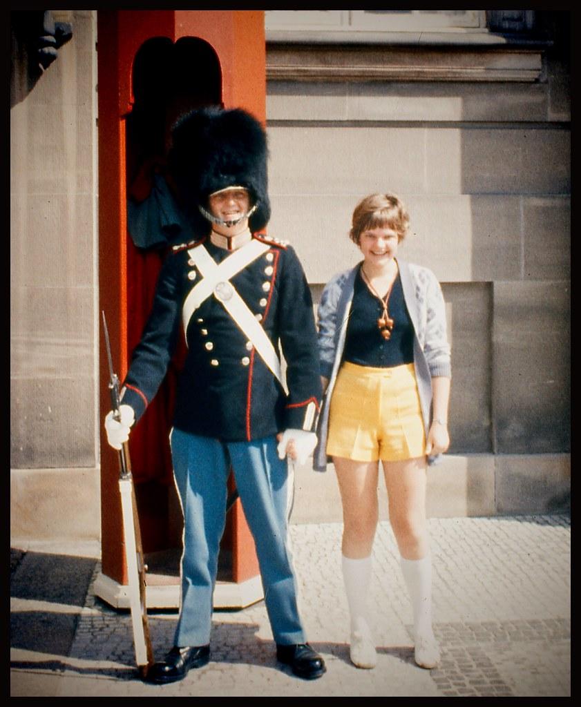 Tourist in copenhagen 1969