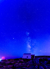 Cape Greco, Κάβο Γκρέκο (Exploring northern Greece for a week) Tags: cavogreco capegreco κάβογκρέκο milkyway galaxy ayioianargyroi church stars sky