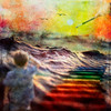 Color Swells (RJ.Take2) Tags: shiftart shiftartchallenge rain ocean wave color rainbow boy paint pastel sunset creation kid pelicans swell best top important transcendent spiritual beautiful art fineart fineartphoto digitalart photoart layered composite composited grunge conceptual abstract avantgarde squareformat square squareart gallery collection artineed livingthedream seekingthestars oooahh unicorn life happy happiness fun playful childlike cute adorable sacred lightworker higherconsciousness highervibration indigo starseed gypsysoul wildchild freespirit wildspirit cedarpark texas usa