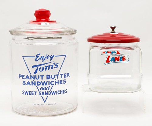 Lance and Tom's Antique Store Jars ($95.20 and $72.80)