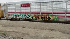 IMG_3111 (jumpsoner) Tags: freights freightculture freightgraffiti foamer foamwr freghtculture railroadphotography railroad railfan benching benchingsteel benchingtrains bencher boxcars benchingfreights bgsk photography graffiti graffculture graff