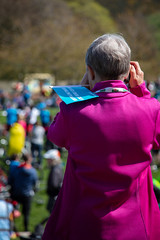 #POP2018  (218 of 230) (Philip Gillespie) Tags: pedal parliament pop pop18 pop2018 scotland edinburgh rally demonstration protest safer cycling canon 5dsr men women man woman kids children boys girls cycles bikes trikes fun feet hands heads swimming water wet urban colour red green yellow blue purple sun sky park clouds rain sunny high visibility wheels spokes police happy waving smiling road street helmets safety splash dogs people crowd group nature outdoors outside banners pool pond lake grass trees talking bike building sport