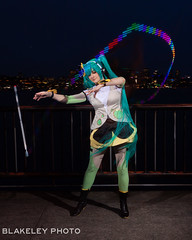 Open Flow Shoot 4/20/18 (Chris Blakeley) Tags: flow flowarts led longexposure seattle hatsunemiku leviwand cosplay