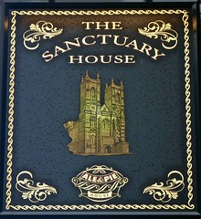 The Sanctuary House - Westminster, London SW1. (garstonian11) Tags: pubs london pubsigns fullers westminster