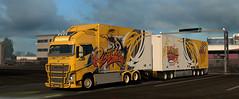eut2_hq_5aedc555f ([johannes]) Tags: ets2 euro truck simulator 2 exceptionnel way trailer tuning transport trucks transit thermo trucking yellow style ristimaa ekeri intercooler lkw lastkraftwagen lights volvo convoi customs fin fh road