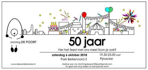 """Uitnodiging feestavond 50 jaar Poort • <a style=""""font-size:0.8em;"""" href=""""http://www.flickr.com/photos/114014586@N08/41913356791/"""" target=""""_blank"""">View on Flickr</a>"""