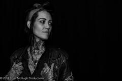 """Heather"", San Diego Tattoo convention, S.D, CA (Brian_McHugh_Productions) Tags: tattoo woman b w monochrome san diego california"