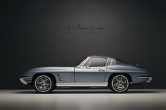 1963 CHEVROLET Corvette Stingray Coupe (aJ Leong) Tags: 1963 chevrolet corvette stingray coupe 118 autoart split windows 60s classic cars vintage vehicles automobiles garage scale model photography diecast collector