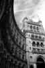 The very beautiful St Pancras Station (BlueMod) Tags: stpancras london trainstation railway 35mm blackandwhite monochrome filmphotography analogue nikon nikonf801s kodak kodak400tx