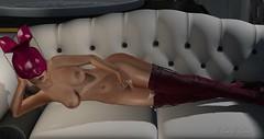 discrete diamonds & magenta dreams (Fawn Fatal) Tags: discrete azoury erotic fetish deaddolls lumipro