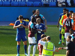 After the final whistle (lcfcian1) Tags: leicester city west ham united king power stadium lcfc whufc epl bpl premier league stadia footy football sport england leicestercity westhamunited kingpowerstadium leicestervwestham markoarnautovic harrymaguire yohanbenalouane