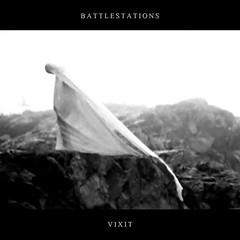 2017_Battlestations_Vixit (24 bit) (Marc Wathieu) Tags: rock pop vinyl cover record sleeve music belgium belgië coverart belgique pochette cd indie artwork vinylcover sleevedesign