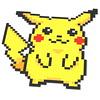 pikachu mosaic (Sylon-tw) Tags: mosaik pokemon pikachu yellow 1x1 mosaic 8bit bit moc lego sylontw sylon 32bit