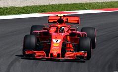 Ferrari SF71H / Kimi Räikkönen / FIN / Scuderia Ferrari (Renzopaso) Tags: ferrari sf71h kimi räikkönen fin scuderia formula 1 gran premio de españa emirates 2018 circuit barcelona cars السيارات 車 autos coches автомоб
