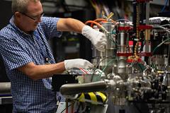 Brendan Dix at LCLS/SXR (SLAC National Accelerator Laboratory) Tags: doe departmentofenergy slac slacnationalacceleratorlaboratory stanforduniversity beamline lcls sxr brendandix