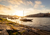 Porto - Riverside (Damien BOURGERY) Tags: porto portugal europe sunset sky clouds river water canon 6d boats travel color colors