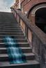 Magic carpet (ADMurr) Tags: naples napoli magic carpet italy italia stairs steps arch sky blue leica m6 kodak 200 50 mm summicron dab4312