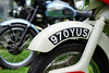 """970YUS"" (Eric Flexyourhead) Tags: vancouver canada britishcolumbia bc vandusenbotanicalgarden 2018 allbritishfieldmeet abfm bike motorbike motorcycle vintage old retro detail fragment british english ariel fender numberplate registration shallowdepthoffield sonyalphaa7 zeisssonnartfe55mmf18za zeiss 55mmf18"