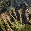 Kauai Heli Tour 11 - Red Hill (lycheng99) Tags: red hill shape topography shadow green mountains landscape nature tropics kauai hawaii helicopter maunaloahelicopter maunaloahelicoptertours aerialview aerial