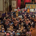 DSCN0126left Ealing Symphony Orchestra perform Symphony No. 4 by George Lloyd. Leader Peter Nall, Conductor John Gibbons. St Barnabas Church, west London. 19th May 2018