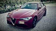 2017 Alfa Romeo Giulia Business Super pack Veloce* (iBSSR who loves comments on his images) Tags: alfa romeo giulia super business pack veloce 2017 rosso red quadrifoglio actie
